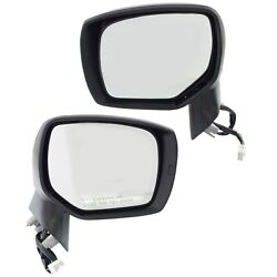 Set Of 2 Mirror Power For 2014-2018 Subaru Forester Left And Right Heated