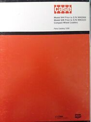 Case 644 Prior To 9662906 646 9663323 Compact Wheel Loader Tractor Parts Manual