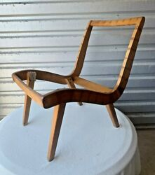 1940s Production Jens Risom Lounge Chair For Knoll