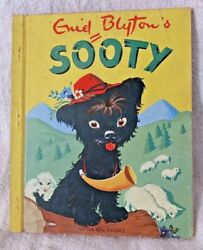 VINTAGE ENID BLYTON'S SOOTY THE TERRIER DOG LITTLE GIFT BOOK LIKE GOLDEN VGC!!!