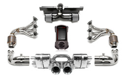 FABSPEED HIGH PERFORMANCE EXHAUST PACKAGE for 09-11 PORSCHE 997.2 GT3/GT3RS 3.8L