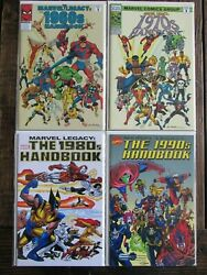 Marvel Comic 2006 LEGACY HANDBOOK Complete Set Issue 1 1960s 1970s 1980s 1990s