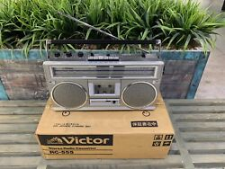 Victor Rc-555 Stereo Boombox