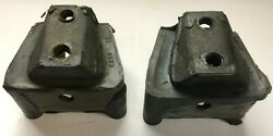 1937 1946 Chevy Truck Rear Motor Mounts 1 Pair For Bell Housing Free Shipping