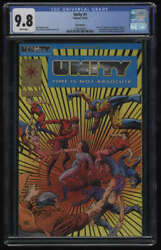 Unity #1 CGC 9.8 White Pages Gold  Edition Valiant