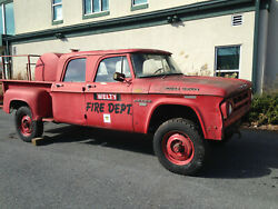1968 Dodge W200  3/4 ton step side, 6cyl 4x4, gas, standard 4 speed, Crew Cab