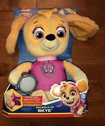 Spin Master 2019 Paw Patrol Snuggle Up Pup Skye Doll Plush Toy New