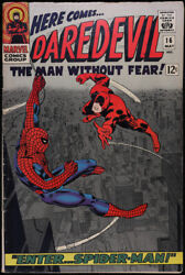 Daredevil 1964 Series Man Without Fear Marvel 16 Very Good Comics Book