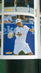 RARE - Roger Federer ROOKIE Card RC - Tennis Mag 2000 - Mint - 1st Ever Sticker