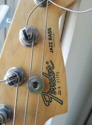 American 80and039s Fender Jazz Bass And Effects Lot Bauhaus Autographed