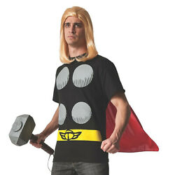 Thor Costume T Shirt with Cape