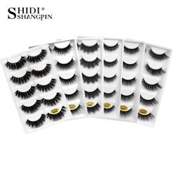 StoreLanjinglin® 50 Boxlot Mink Eyelashes Natural Long False Eyelashes Handmade