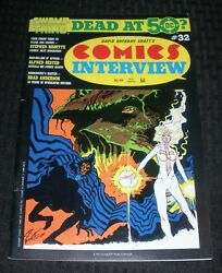 1986 Comics Interview 32 Fn+ 6.5 Swamp Thing At 50 / Steve Bissette
