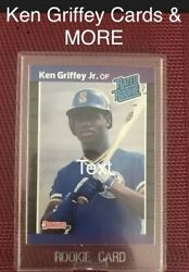 Ken Griffey Jr rookie card And More