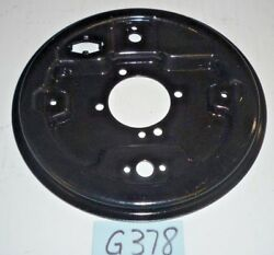 Used Oem ... 1968 - 1980 Mgb Rear Axle Backing Plate Right Side G378