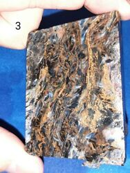 New Price- Offers - Aaa+ Pietersite Slab - From Namibia Africa 88.19grams