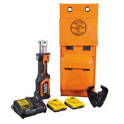 Klein Tools Bat207t2 Battery-operated Cable Crimper D3 Groove 2 Ah