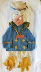 Vintage Donald Duck Costume Outfit 1930s/40s  Character Costume