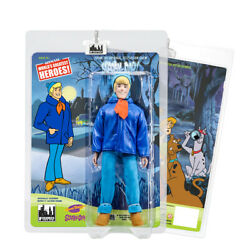 Scooby Doo Retro 8 Inch Action Figures Series: Fred Blue Jacket Winter Variant $36.98