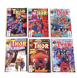 Marvel Comics Thor And Journey Into Mystery Job Lot Set Of 6 Issues, Avengers