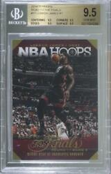 2014-15 NBA Hoops Road to the Finals 2014 Lebron James #17 BGS 9.5