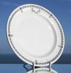 White Star Line Rms Olympic Era Pattern 2nd Class Dinner Plate 1920's