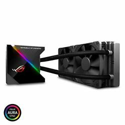 Asus 223424 Fan Rog Ryujin 240 All-in-one Liquid Cpu Cooler Color Oled Aura Sync