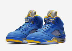 Nike Air Jordan Retro 5 Laney JSP Size 8-14 Varsity Royal Maize CD2720-400