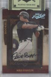2008 Playoff Prime Cuts /249 Giancarlo Stanton Mike 101 Auto