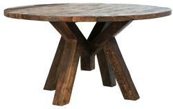 59 W Patterson Coffee Table One Of A Kind Recycled Solid Hardwoods Rustic