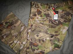 Under Armour Storm Hunting Forest Camo Cargo Pants Mes 38 32 X 32 Nwt 169.99