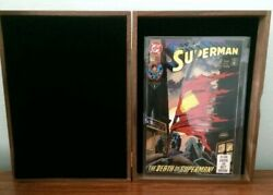 Superman 75 Signed By Jerry Siegel Dynamic Forces Le