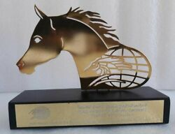 United Emirate Equestrian Arab Horses Racing France Conference Medallion Award