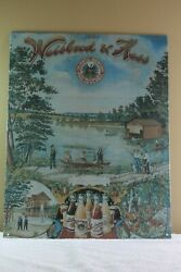 Nostalgic Reproduction Of Vintage Weisbrod And Hess Brewery Philadelphia Tin Sign