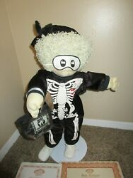 1991 Cabbage Patch Kids Skeleton Halloween Doll Soft Sculpture 23