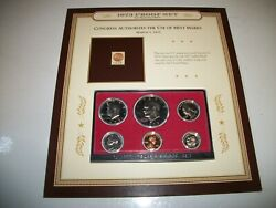 Proof Set San Francisco Mint 1973 Uncirculated Free Shipping