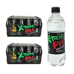 X-Treme PH Sports Water High pH bottled water (Two 24-pack cases)