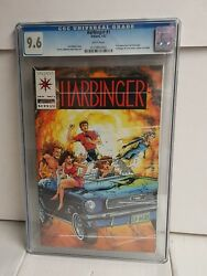 Harbinger #1 CGC 9.6 with coupon Pre-Unity Valiant 1992 First Appearance