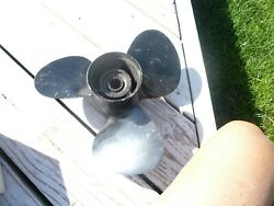 Mercury 48-61814a1 11 Pitch Boat Prop Alum ,beauty Look At The Blades, Clean