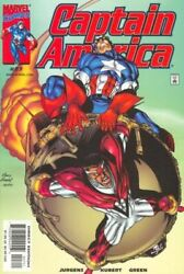 Captain America Vol. 3 27 Twisted Tomorrows Part 3 Marvel Comics Nm Stock Image