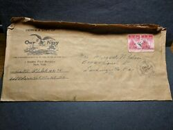 Uss Polaris Af-11 Naval Cover 1944 Censored Wwii Sailorand039s Mail Our Navy Magazine