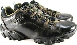 Bull Terrier Men Hiking Shoes Size 10 Brown Ortho Comfort Style OB30816-5016