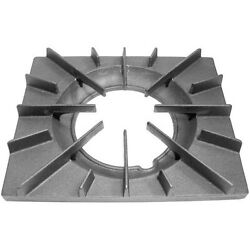 Vulcan Hart, 13 1/4 X11 1/8 Cast Iron Open Top Spider Grate With Built-in Bowl