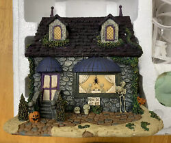 Hawthorne Village Munsters Halloween Marilyn's Cafe With Coa