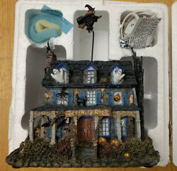 Hawthorne Village Munsters Halloween Lily's Inn With Coa