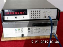 Systron Donner 6030 Microwave Frequency Counter 10hz-26.5ghz