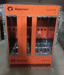 Gigamon Gigavue Hd8 Chs-hd800 Chassis W/ Fan Tray And 4x Ac Power Supplies