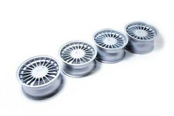 16and039and039 Wheel Set For Bmw E23 E24 E28 E32 E34 Alpina 5x120 Staggered With Flat Caps