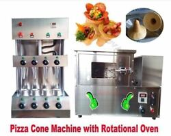 With Rotational Pizza Oven Commercial Maker Machine Pizza Cone Forming Making Tk