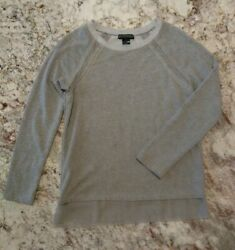 NWOT Design365 Large Gray Tunic Sweatshirt